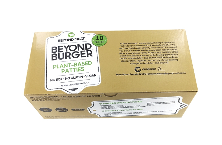 Beyond Burger: happy veggie